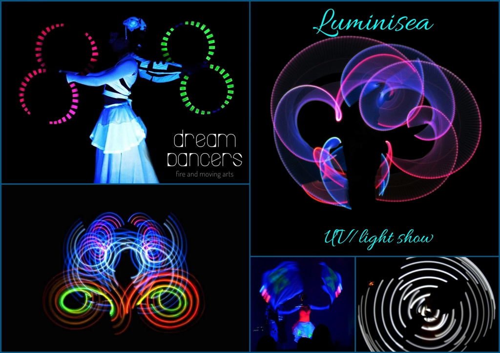 Luminisea- UV&Light show by Dreamdancers